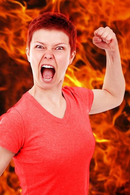 Umgang mit wütenden Ex-Frau
