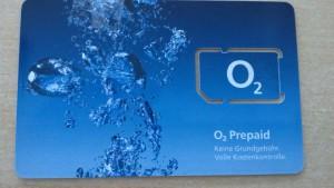 Keine Grundgebühr, volle Kostenkontrolle O2 Prepaid